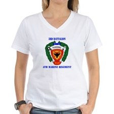 3rd Battalion 4th Marines with Text Shirt