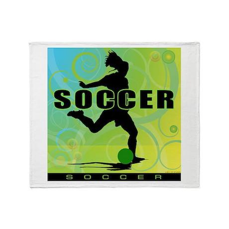 2011 Girls Soccer 1 Throw Blanket
