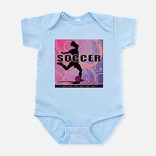 2011 Girls Soccer 2 Infant Bodysuit