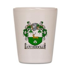 O'Connell Coat of Arms Shot Glass