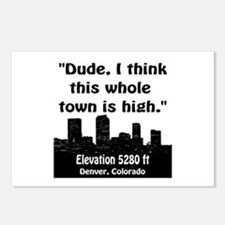 High City Postcards (Package of 8)