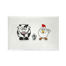 Cow Chicken Egg? Rectangle Magnet (10 pack)