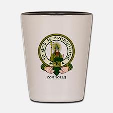 Connolly Clan Motto Shot Glass