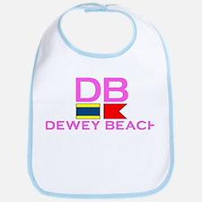 Dewey Beach DE - Nautical Design Bib