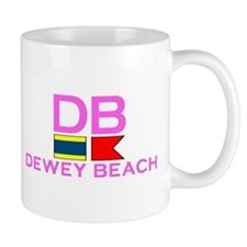 Dewey Beach DE - Nautical Design Mug