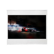 Unique Formula 1 Throw Blanket