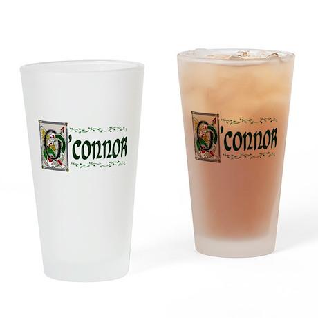 O'Connor Celtic Dragon Pint Glass