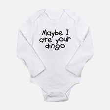 Maybe I Ate Your Dingo Long Sleeve Infant Bodysuit