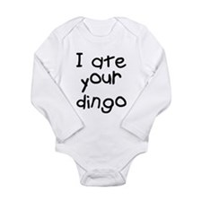 Maybe I Ate Your Dingo Long Sleeve Infant Bodysuit