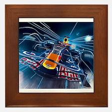 Cute Formula 1 Framed Tile