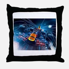 Cute Formula 1 Throw Pillow