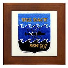 USS DACE Framed Tile