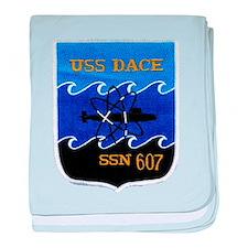 USS DACE baby blanket