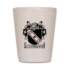 Conway Coat of Arms Shot Glass