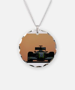 Funny Formula one racing Necklace
