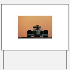 Formula 1 Yard Sign