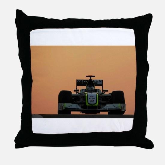 Cool Formula one Throw Pillow
