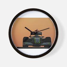 Funny Formula one Wall Clock