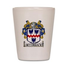 McCormack Coat of Arms Shot Glass