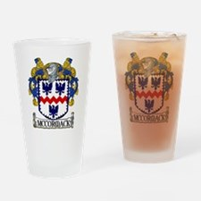 McCormack Coat of Arms Drinking Glass