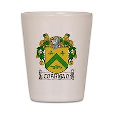 Corrigan Coat of Arms Shot Glass