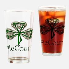 McCourt Shamrock Drinking Glass