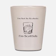 Funny Scottish Shot Glass
