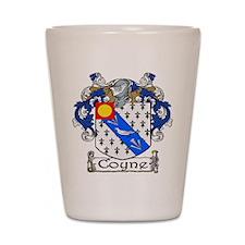 Coyne Coat of Arms Shot Glass
