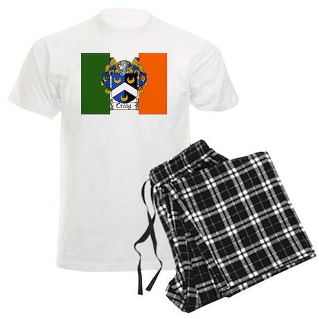 Craig Arms Irish Flag Men's Light Pajamas