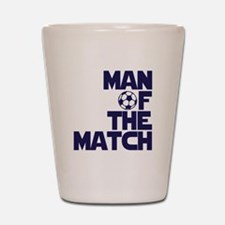 Man of the Match (Soccer) Shot Glass
