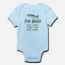 Fish Naked Infant Bodysuit