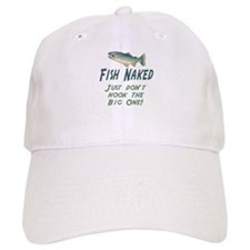 Fish Naked Baseball Cap