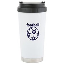 Football Soccer Ball Travel Mug