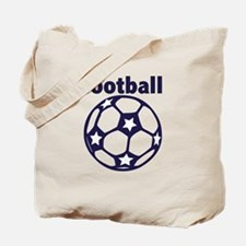 Football Soccer Ball Tote Bag