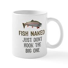Fish Naked Small Small Mug