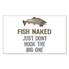 Fish Naked Decal
