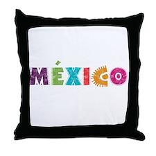 MéXICO Throw Pillow