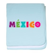 MéXICO baby blanket