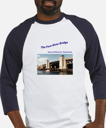 Old Fore River Bridge Baseball Jersey