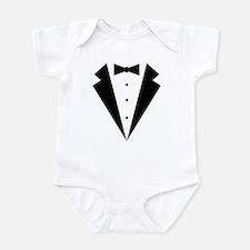 Minimalist Funny Tuxedo Infant Bodysuit