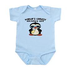 World's coolest birthday boy Infant Bodysuit