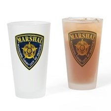 Seattle Marshal Pint Glass