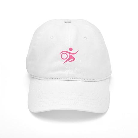 Pink Thriathlete Cap