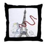 Princess Smartypants Throw Pillow