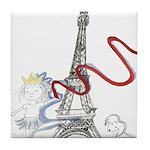 Princess Smartypants Tile Coaster