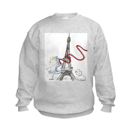 Princess Smartypants Kids Sweatshirt
