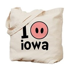 Cute Hog farmers Tote Bag