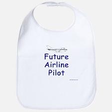 Future Airline Pilot I Bib