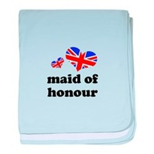maid of honour (union jack) baby blanket