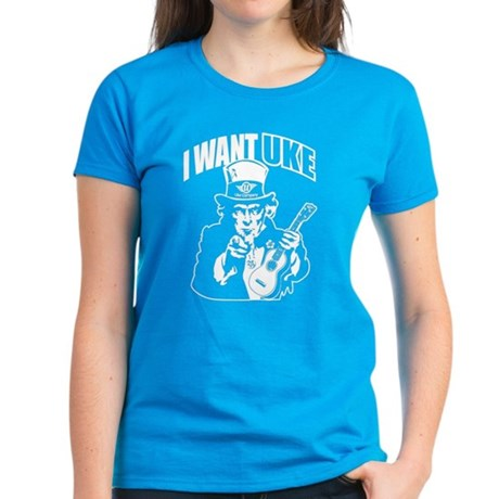 I WANT UKE Women's Dark T-Shirt